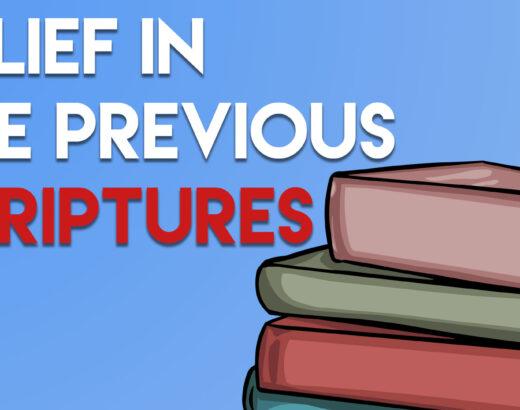 DO MUSLIMS BELIEVE IN BIBLE & PAST SCRIPTURES?
