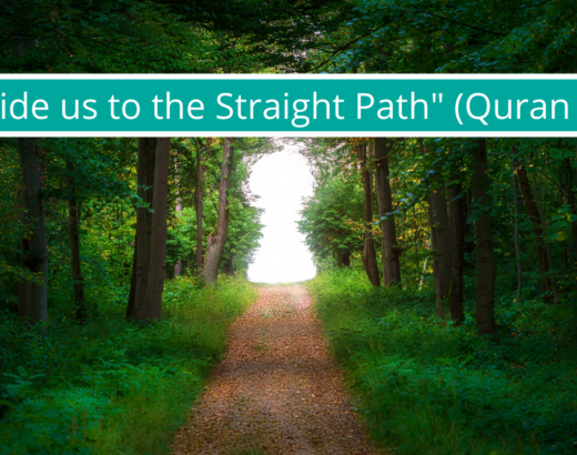 DUA TO GUIDE TO STRAIGHT PATH FROM QURAN