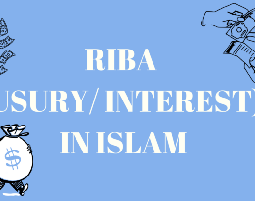 RIBA (INTEREST/ USURY) IN ISLAM & QURAN