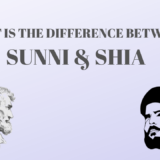 WHAT IS THE DIFFERENCE BETWEEN SUNNI & SHIA MUSLIMS?